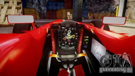 Ferrari F138 v2.0 [RIV] Massa THD для GTA 4 вид изнутри