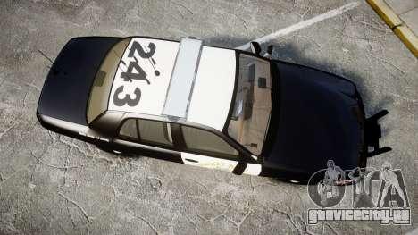Ford Crown Victoria CHP CVPI Liberty [ELS] для GTA 4 вид справа