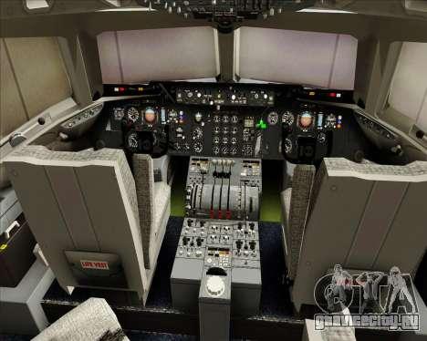McDonnell Douglas DC-10-30 World Airways для GTA San Andreas салон