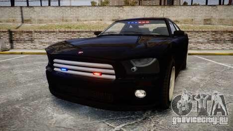 GTA V Bravado FIB Buffalo [ELS] для GTA 4