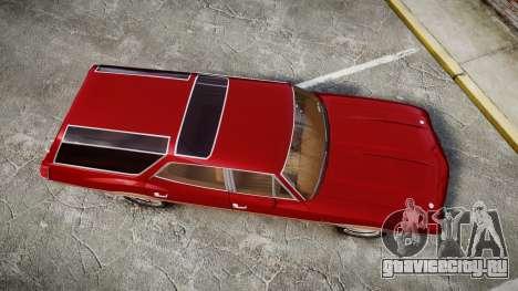 Oldsmobile Vista Cruiser 1972 Rims1 Tree2 для GTA 4 вид справа