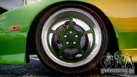 Nissan 240SX S13 Tuned для GTA 4 вид сзади