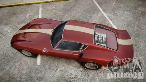 Grotti Stinger GT для GTA 4 вид справа