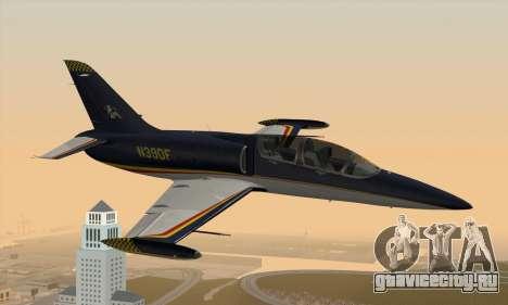Aero L-39C для GTA San Andreas вид слева
