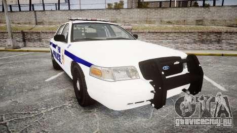 Ford Crown Victoria F.B.I. Police [ELS] для GTA 4