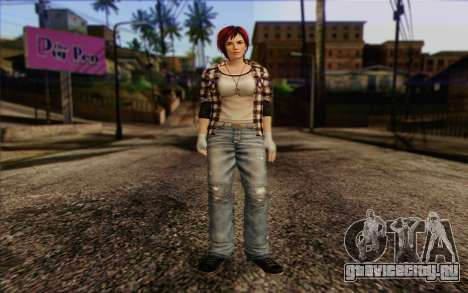 Mila 2Wave from Dead or Alive v9 для GTA San Andreas