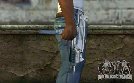 Uzi from Beta Version для GTA San Andreas третий скриншот