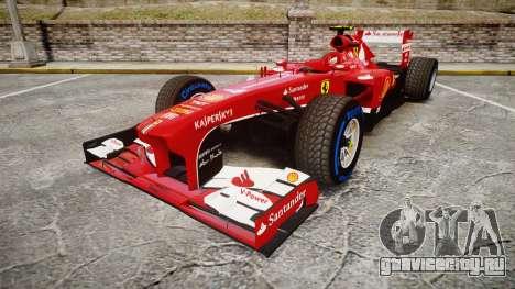 Ferrari F138 v2.0 [RIV] Massa TFW для GTA 4