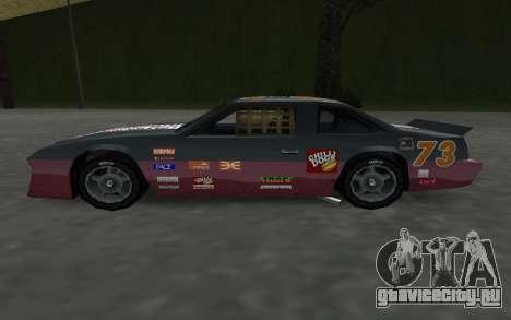 Новые декали и номера Hotring для GTA San Andreas вид справа