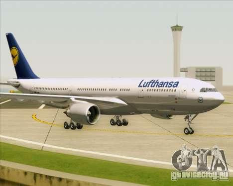 Airbus A330-200 Lufthansa для GTA San Andreas вид слева