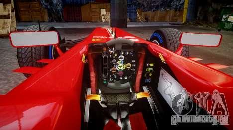 Ferrari F138 v2.0 [RIV] Massa TFW для GTA 4 вид изнутри