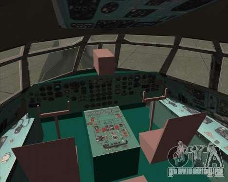 ИЛ-76ТД АЛРОСА для GTA San Andreas салон