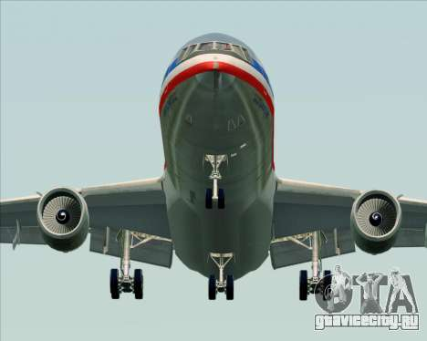 McDonnell Douglas DC-10-30 American Airlines для GTA San Andreas вид сзади