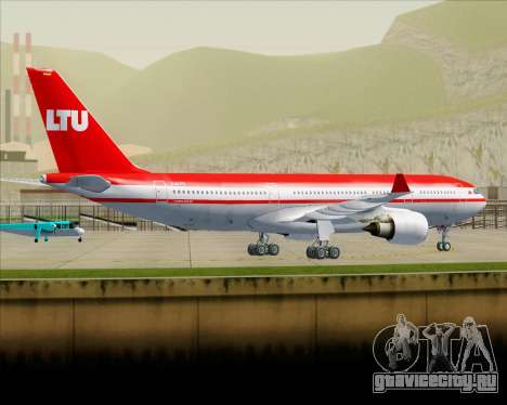 Airbus A330-200 LTU International для GTA San Andreas вид снизу