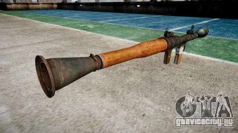 Ручной противотанковый гранатомёт (РПГ) для GTA 4 второй скриншот
