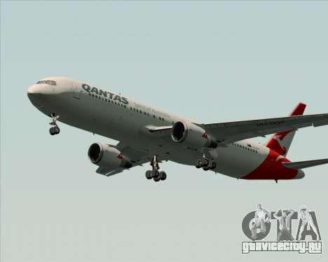 Boeing 767-300ER Qantas (New Colors) для GTA San Andreas вид сзади слева