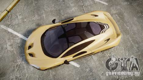 McLaren P1 [EPM] для GTA 4 вид справа