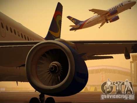 Airbus A319-132 Spirit Airlines для GTA San Andreas