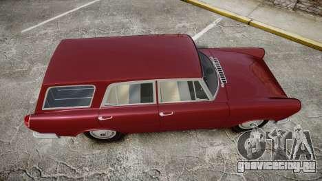 FSO Warszawa Ghia Kombi 1959 для GTA 4 вид справа