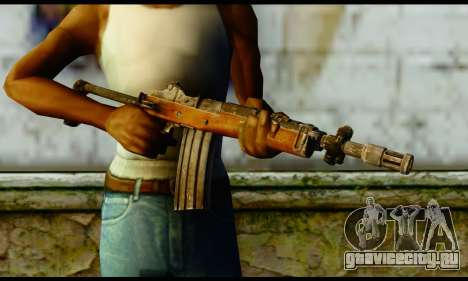 Ruger Mini-14 from Gotham City Impostors v1 для GTA San Andreas третий скриншот