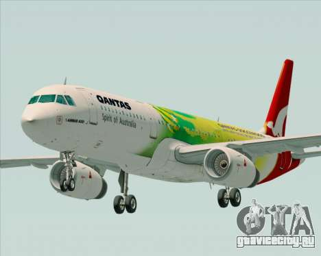 Airbus A321-200 Qantas (Socceroos Livery) для GTA San Andreas
