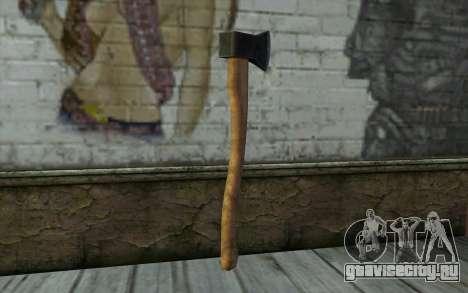 Топор (DayZ Standalone) для GTA San Andreas второй скриншот