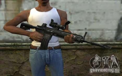 HK416 (Bump mapping) v2 для GTA San Andreas третий скриншот