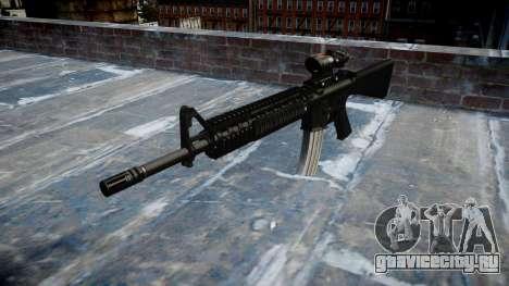 Винтовка M16A4 ACOG target для GTA 4