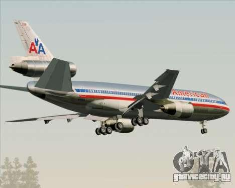 McDonnell Douglas DC-10-30 American Airlines для GTA San Andreas вид справа