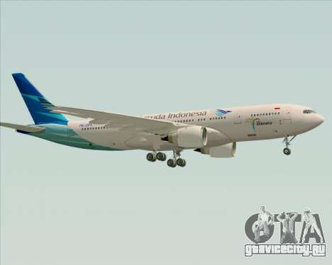Airbus A330-243 Garuda Indonesia для GTA San Andreas вид справа