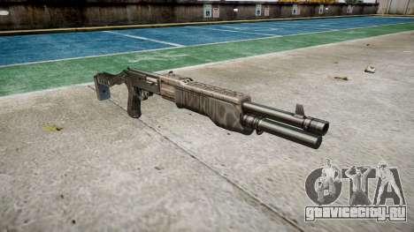 Ружьё Franchi SPAS-12 Kryptek Typhon для GTA 4