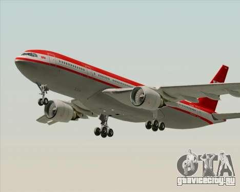 Airbus A330-200 LTU International для GTA San Andreas салон