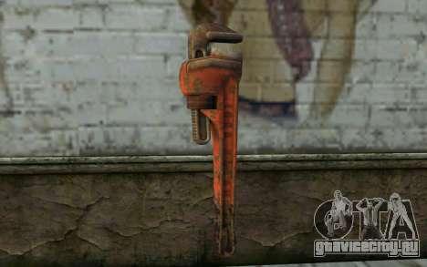 Гаечный Ключ (DayZ Standalone) для GTA San Andreas