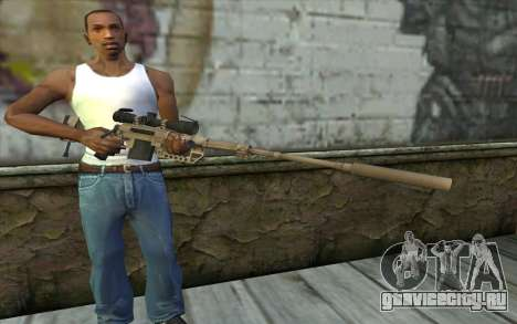 Снайперская Винтовка Cheytac M200 Intervention для GTA San Andreas третий скриншот