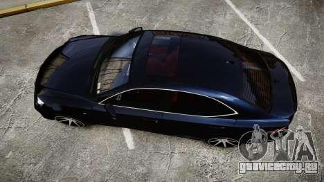 Lexus IS 350 F-Sport 2014 Rims2 для GTA 4 вид справа