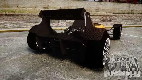 Caparo T1 для GTA 4 вид сзади слева