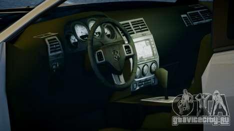 Dodge Challenger SRT8 для GTA 4 вид справа