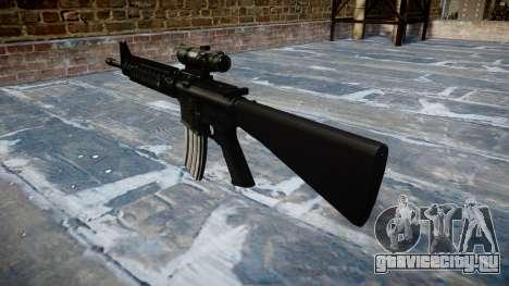 Винтовка M16A4 ACOG target для GTA 4 второй скриншот