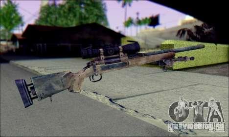 M24Jar Снайперская винтовка из SGW2 для GTA San Andreas второй скриншот