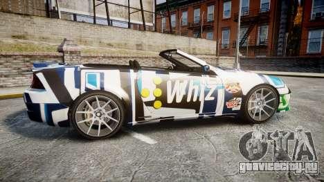 Benefactor Feltzer Grey Series v2 для GTA 4 вид слева