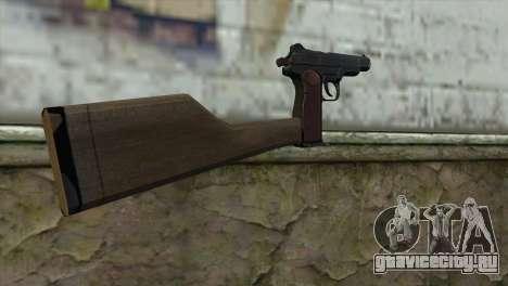 Автоматический Пистолет Стечкина для GTA San Andreas второй скриншот