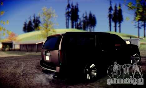 Cadillac Escalade Ninja для GTA San Andreas вид справа