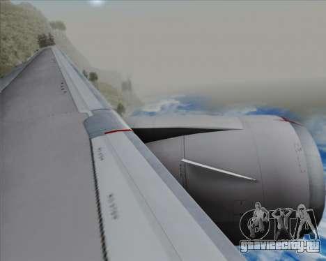 Boeing 767-300ER Qantas (New Colors) для GTA San Andreas двигатель