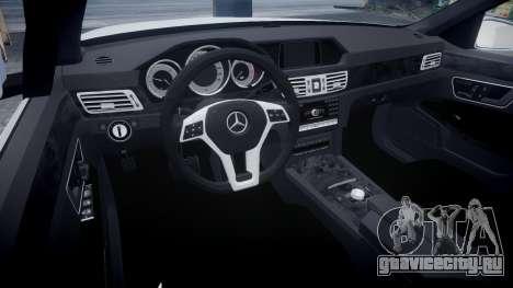 Mercedes-Benz E63 W213 AMG 2014 Vossen для GTA 4