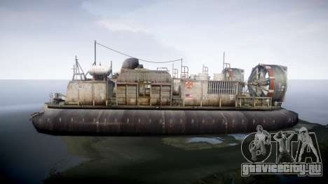 LCAC US Navy для GTA 4 вид слева