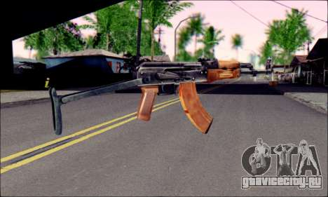 АКМc from ArmA 2 для GTA San Andreas второй скриншот