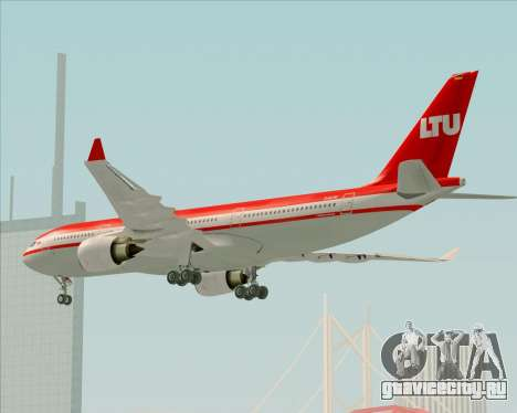 Airbus A330-200 LTU International для GTA San Andreas