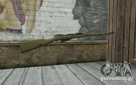 Винтовка Мосина v3 для GTA San Andreas второй скриншот