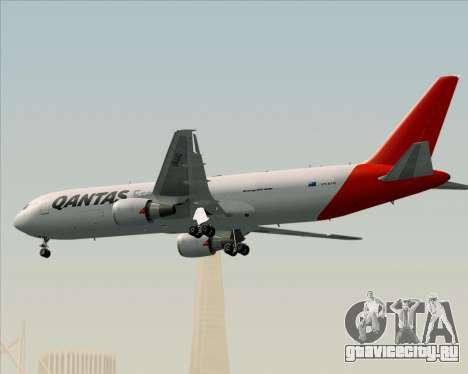 Boeing 767-300F Qantas Freight для GTA San Andreas вид сверху