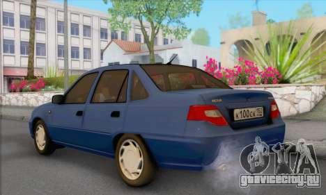 Daewoo Nexia для GTA San Andreas вид слева